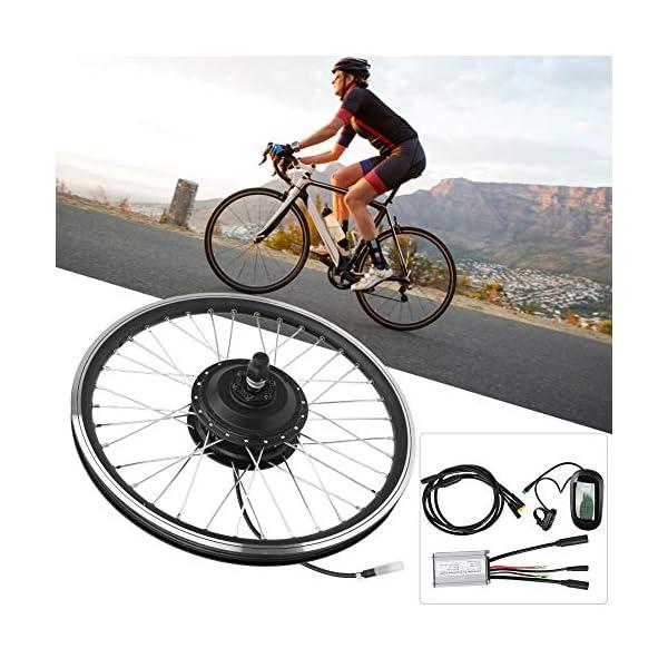 T best Kit di conversione per Bicicletta elettrica, Kit di conversione per mozzo per Bicicletta con Motore per… 6 spesavip