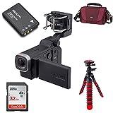 Zoom Q8 Handy Video Recorder + 12'' Spider Tripod + 32GB + Lowepro Gadget Bag