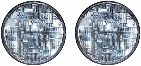 1955 1956 1957 CHEVY HEAD LAMP HEADLIGHT BULBS Pair   Halogen Sealed Beam