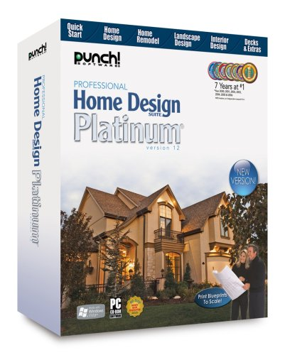 Amazon Com Professional Home Design Suite Platinum Old Version