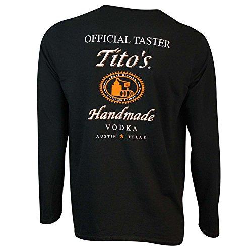 (Tito's Vodka Long Sleeve Taster Shirt Large)
