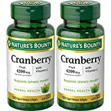 Cheap Nature's Bounty Cranberry Fruit 4200 mg, Plus Vitamin C, 120 Softgels (Pack of 2)