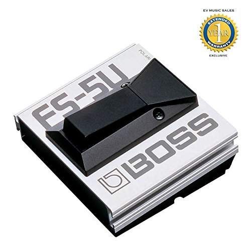 Boss FS-5U Non-latching Footswitch/Pedal with1 Year Free Extended Warranty by BOSS