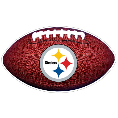 NFL Pittsburgh Steelers 3D Football Magnet (Pack of 2)