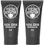 BEST DEAL Microdermabrasion Face Scrub for Men - Facial Cleanser for Skin Exfoliating, Deep Cleansing, Removing Blackheads, Acne, Ingrown Hairs - Men's Face Scrub for Pre-Shave (2 Pack)