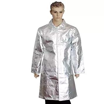 GOOG - Ropa ignífuga de aluminio resistente al calor, traje ...