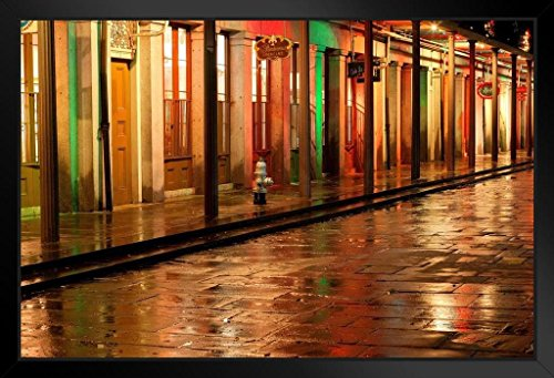 French Quarter Reflections New Orleans Louisiana Photo Art Print Framed Poster by ProFrames
