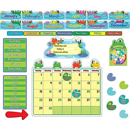 Carson Dellosa Funky Frogs Calendar - Frog Calendar