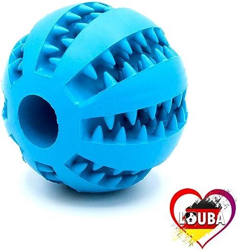 LouBa Pelota para Perros función de Cuidado Dental, Juguete para ...