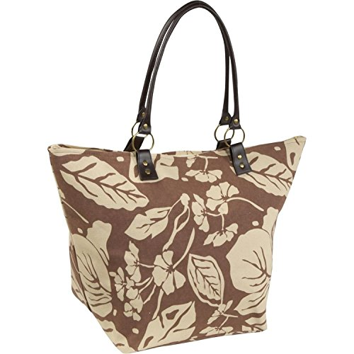 large-flower-print-zippered-top-bamboo-54-rachel-beach-bag-tote-brown-and-beige