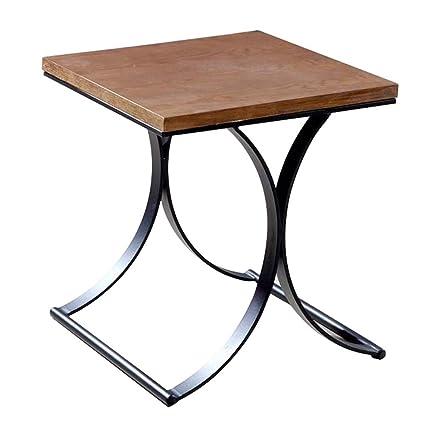 Amazon.com: Creative Square Corner Table Stainless Steel ...