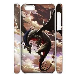 LZHCASE Design Diy hard Case Dragon For Iphone 4/4s [Pattern-1]