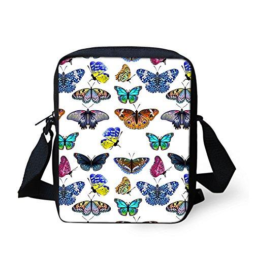pour HUGS Sac CC305E petit IDEA femme Butterfly3 Noir Y Butterfly4 bandoulière Xnq1XwrW