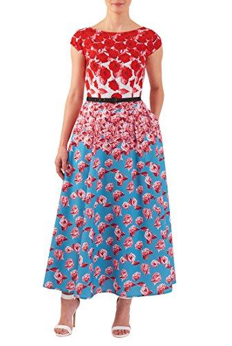 Buy belted drape dress - 1