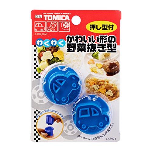 Tomica Shop (Skater Tomica Car Shape Vegetable Cutter Mold Set of 2 (LKVN1))