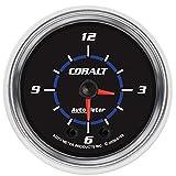 Auto Meter 6185 Cobalt 2'' Analog Illuminated Clock Gauge