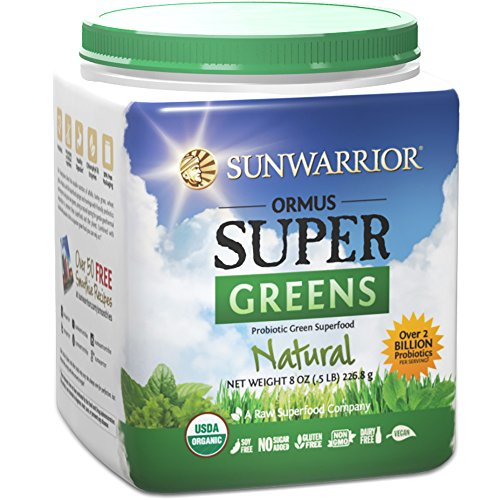 Sunwarrior Ormus Supergreens Natural Servings product image