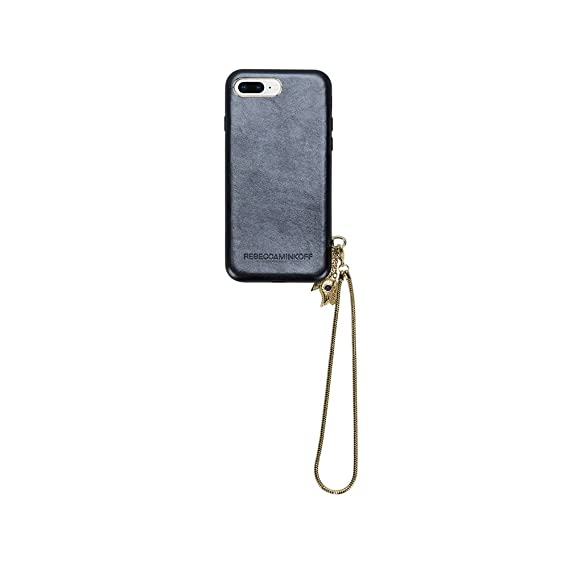 hot sale online 3e333 2b69f Amazon.com: Rebecca Minkoff Case w/Charm + Lanyard for iPhone 8 Plus ...