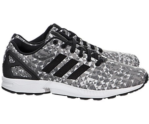 Adidas ZX Flux Weave - White / Black, 10.5 D US