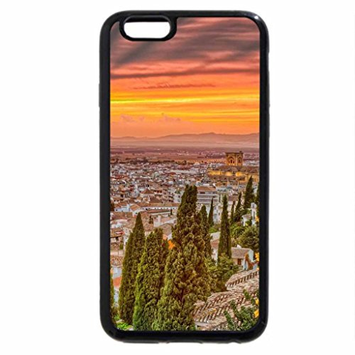 iPhone 6S / iPhone 6 Case (Black) Cool City Sunset