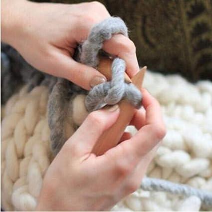 Amazon Com 1pcs 20mm Plastic Tube Circular Wood Bamboo Knitting