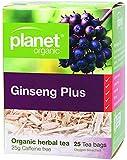 Planet Organic Ginseng Plus Herbal Tea 25 Teabags