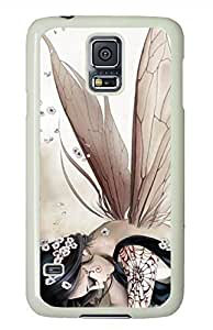 Anime Butterfly Elves White Hard Case Cover Skin For Samsung Galaxy S5 I9600