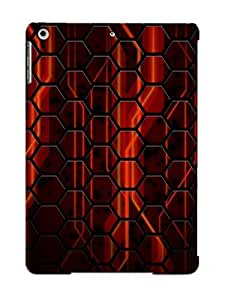Crazinesswith KWJFbnk1824TJdcu Case Cover Skin For Ipad Air (honeycomb Pattern)/ Nice Case With Appearance