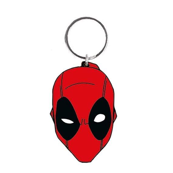 Deadpool - Llavero (Talla Única) (Multicolor): Amazon.es ...