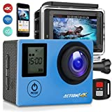 SereneLife 4K Ultra HD WiFi Pro Sport Action Camera – 1080p UHD Sports Mini Digital Video Camcorder Kit w/ 2″ Monitor Screen – Waterproof Case, Strap, Helmet Mount Accessories Included – SL4KDSBL Review