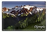 Olympic National Park - Mount Olympus (12x18 Aluminum Wall Sign, Wall Decor Ready to Hang) offers
