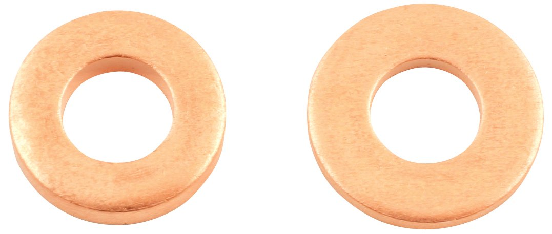 Connect 31748 Common Rail Copper Injector Washer, 15.00 x 7.5 x 2.0 mm, Set of 50