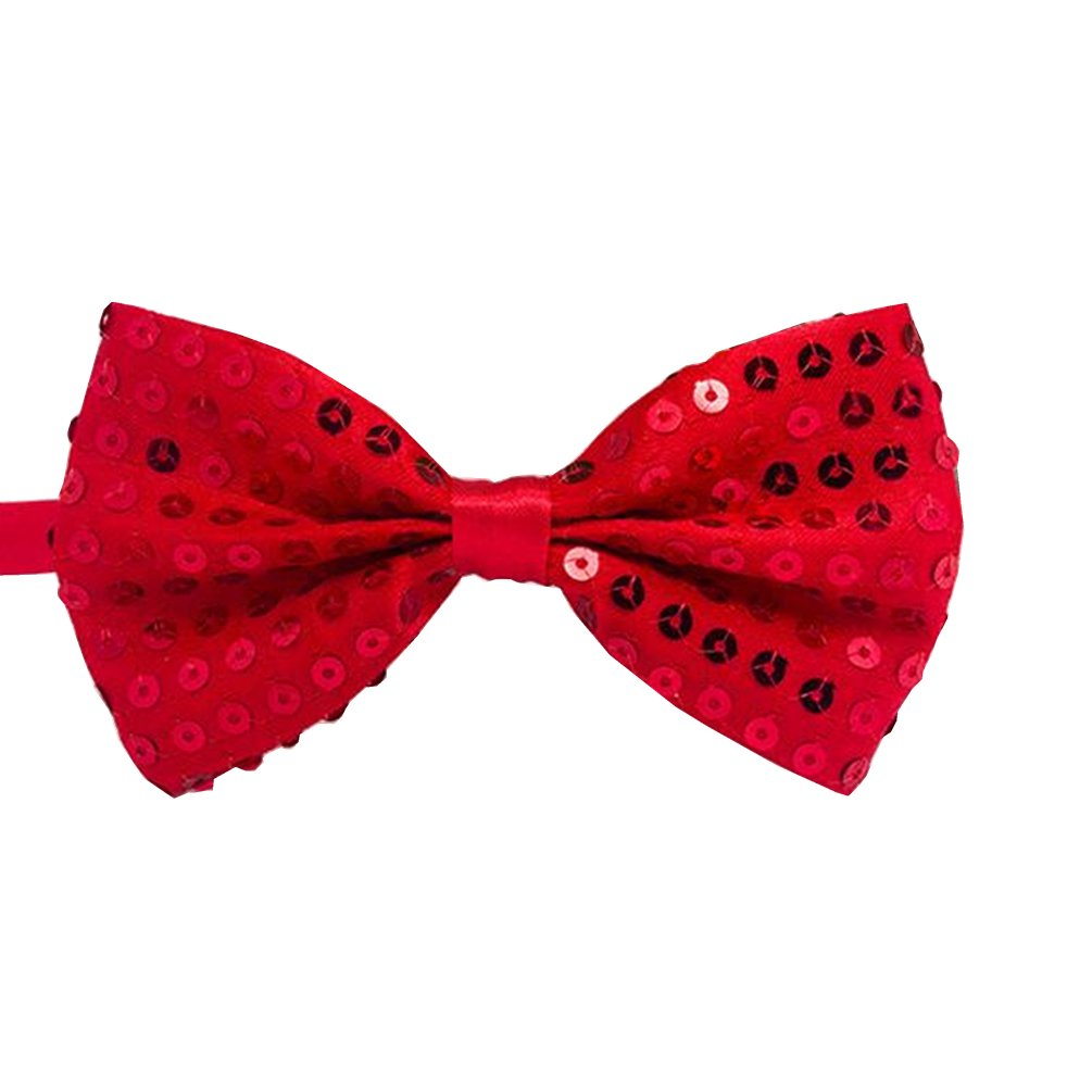 RUOYUCL Boys Sequins Bowties Unisex Performance Bow Tie Korean Style RUO4976