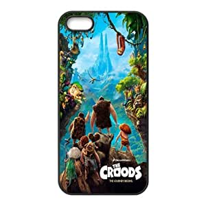 The Croods Pattern Design Solid Rubber Customized Cover Case for iPhone 4 4s 4s-linda656