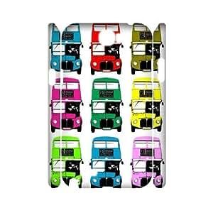 London Bus 3D Hard Back Durable Case for Samsung Galaxy Note2 N7100,diy London Bus 3d case series 3 WANGJING JINDA