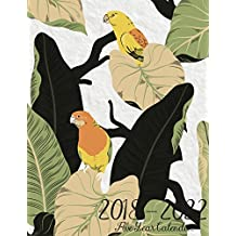 2018 - 2022 Five Year Calendar: July 2018 - December 2022 Five Year Planner, Monthly Schedule Organizer, Calendar July 2018 - December 2022, Academic Monthly & Yearly Agenda