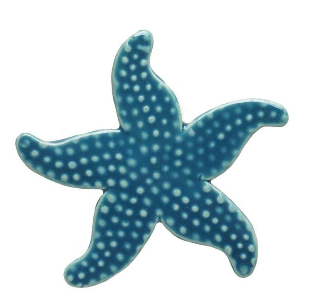 Custom Mosaics, Inc. Starfish Ceramic Swimming Pool Mosaic (5\