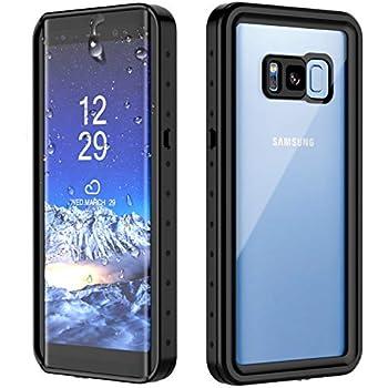 Amazon.com: Lanhiem Galaxy S8 Case, IP68 Waterproof ...
