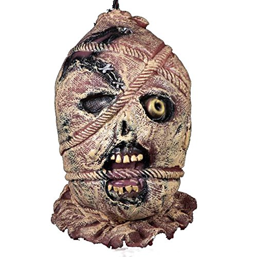 RIUADA Bar Haunted House Props Zombie Skull Hanging Kito Halloween (Halloween Zombie Makeup For Guys)