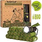 Sacchetti-Cane-Biodegradabili-Porta-Sacchetti-Igienici-Cani-Amido-Di-Mais-Bustine-Grandi-Resistenti-Per-La-Raccolta-Cacca-Di-Cani-Compostabili-Totalmente