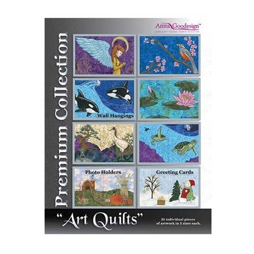 Anita Goodesign Embroidery ~ ART QUILTS ~ Premium Collection Embroidery Designs