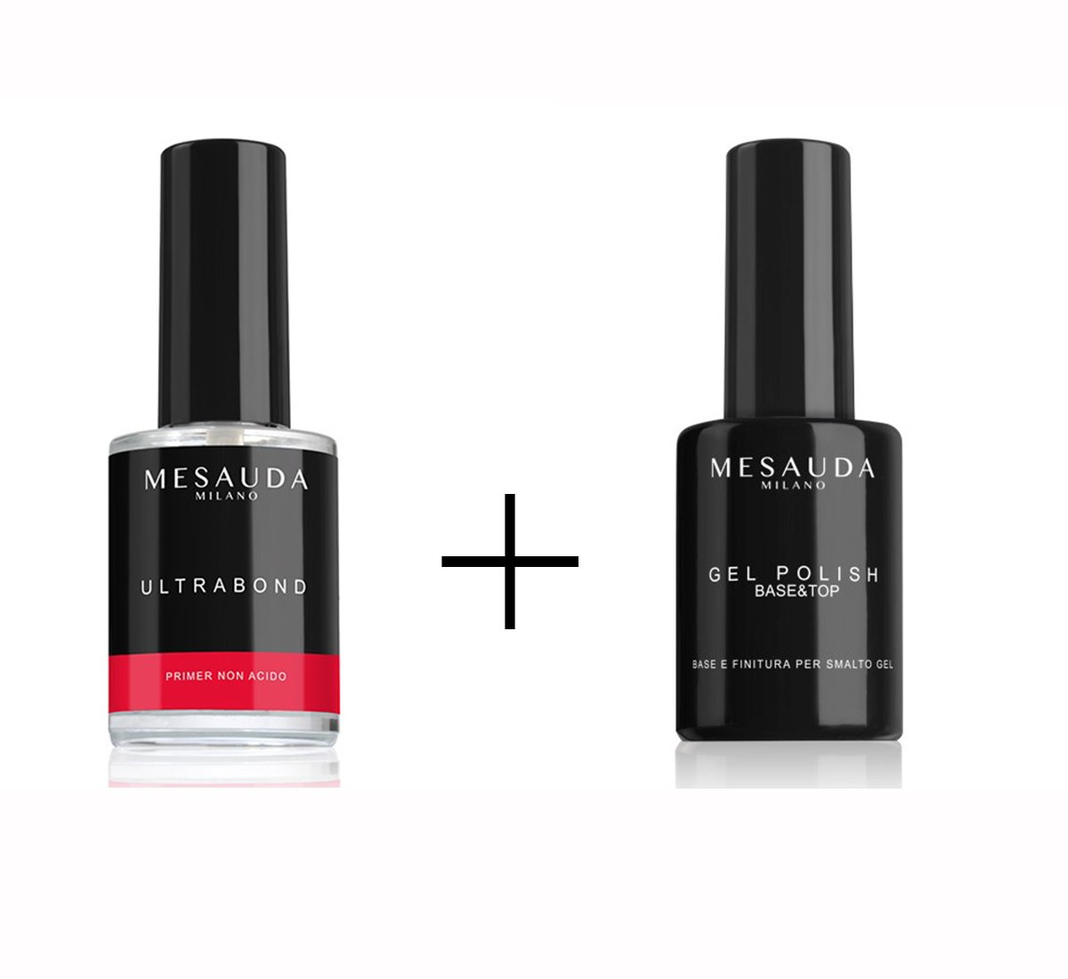 MESAUDA MILANO NAILS KIT BASE & TOP 14ML + ULTRABOND PRIMER UNGHIE 14ML GAON SRL