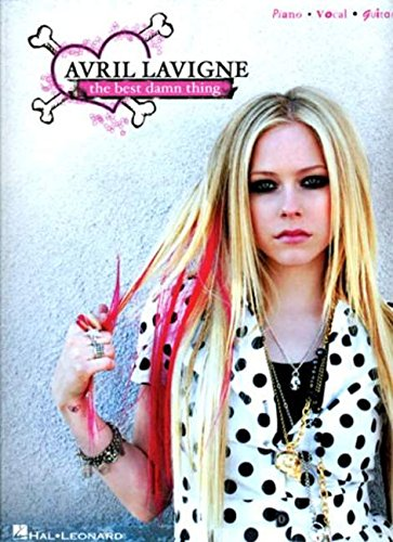 Avril Lavigne: The Best Damn Thing (Piano/Vocal/Guitar Artist Songbook)
