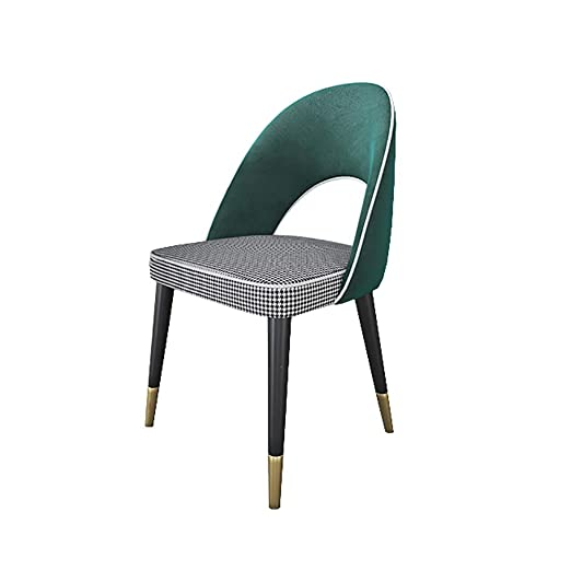 QYJ-Dining chair Silla De Cocina/Comedor/Lino De AlgodóN ...
