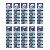 50 Pack 3V High Capacity Lithium Button Coin Cell