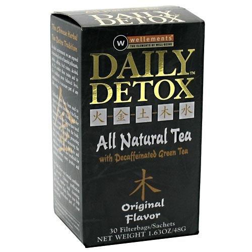 M.D. Labs Daily Detox All Natural Tea 30 Bags (30 Bag Daily Detox)
