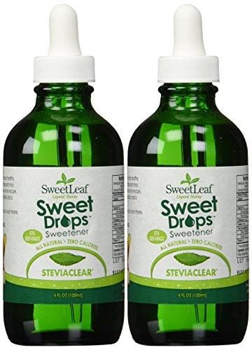 Sweetleaf Stevia Stevia Clear Liquid 4-ounce