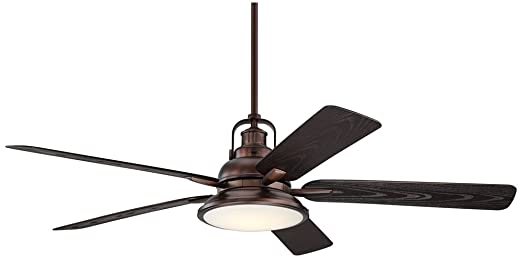60 wind and sea oil brushed bronze wet led ceiling fan amazon 60quot wind and sea oil brushed bronze wet led ceiling fan mozeypictures Choice Image
