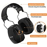 ProCase Noise Reduction Safety Ear Muffs, Hearing