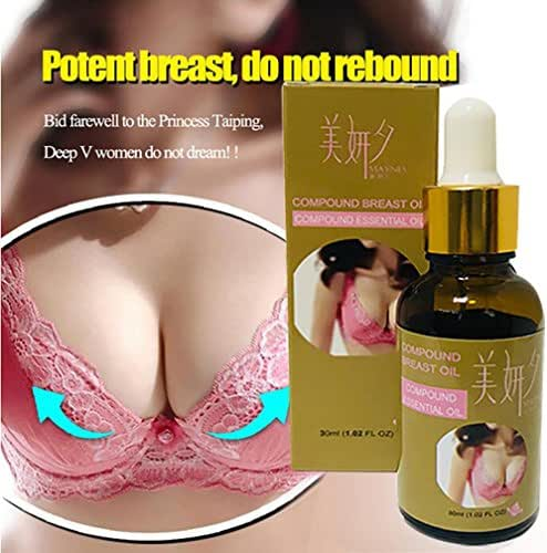 Massage Essential Oil - YOYORI Chest Enlargement Of Essential Oil Breast Massage Nursing Compound Essential Oil (Brown)